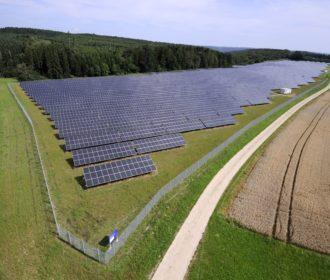 EnBW Solarpark Leibertingen