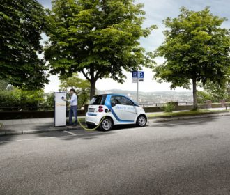 EnBW-Ladestation car2go