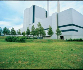 Park eines Heizkraftwerks (Bild Nr. 4451)