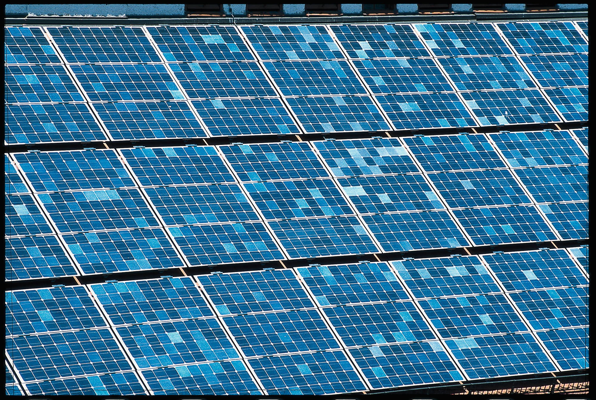 Solarzölle, Solarzoll, Solaranlage (Bild Nr. 8101)