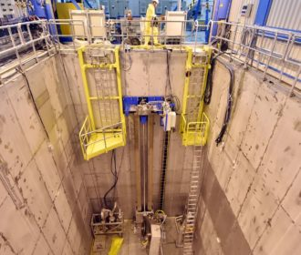 Kernkraft Rückbau EnBW Obrigheim leeres Brennelement-Lagerbecken