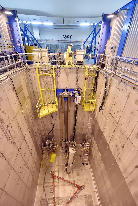 Deutschland Kernkraft Rückbau EnBW Obrigheim leeres Brennelement-Lagerbecken