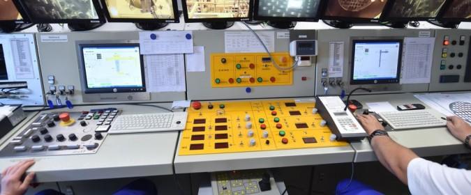 Kernkraft Rueckbau EnBW Obrigheim Leitstand fernbediente Zerlegung