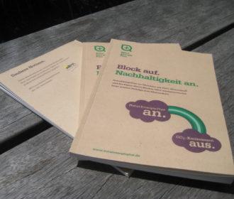 Upcycling: Schreibblock von NaturEnergiePlus