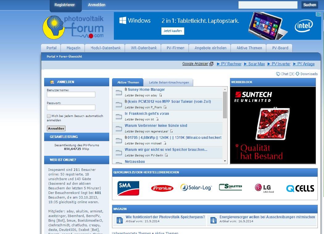 PV-Forum