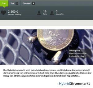 Hybridmarkt Strommarktdesign