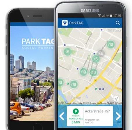 Energiewende, social parking, startup