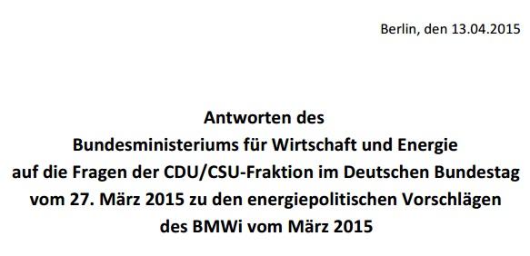 CDU Klimaabgabe, Energiewende aktuell
