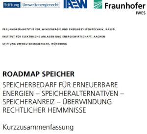 RoadmapSpeicher, Energiewende akutell