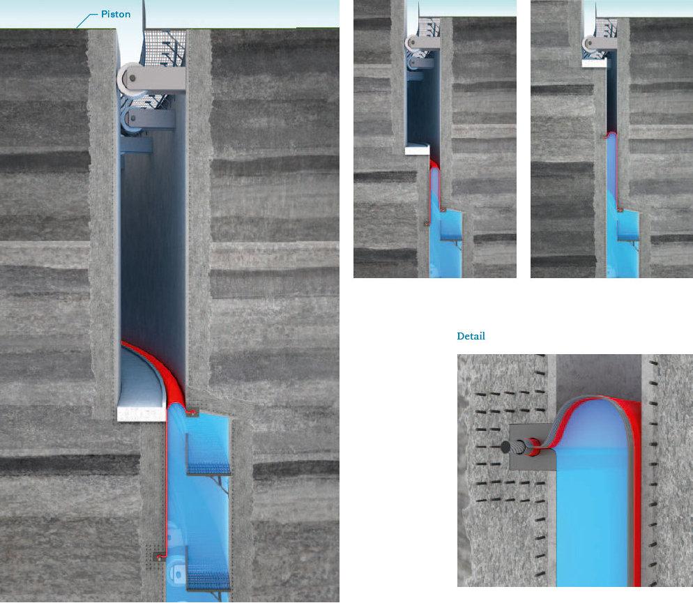 rolling-membrane-4, Felsspeicher