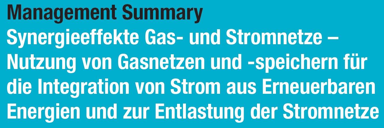 P2G Synergien, Energiewende, power-to-gas, Synergieeffekte Gas- und Stromnetze