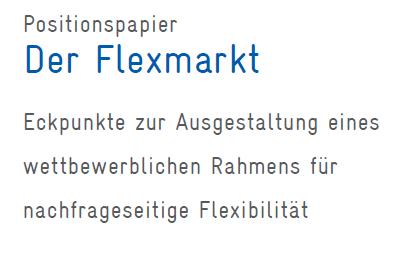 FlexmarktBNE, Energiewende, Flixibilisierung