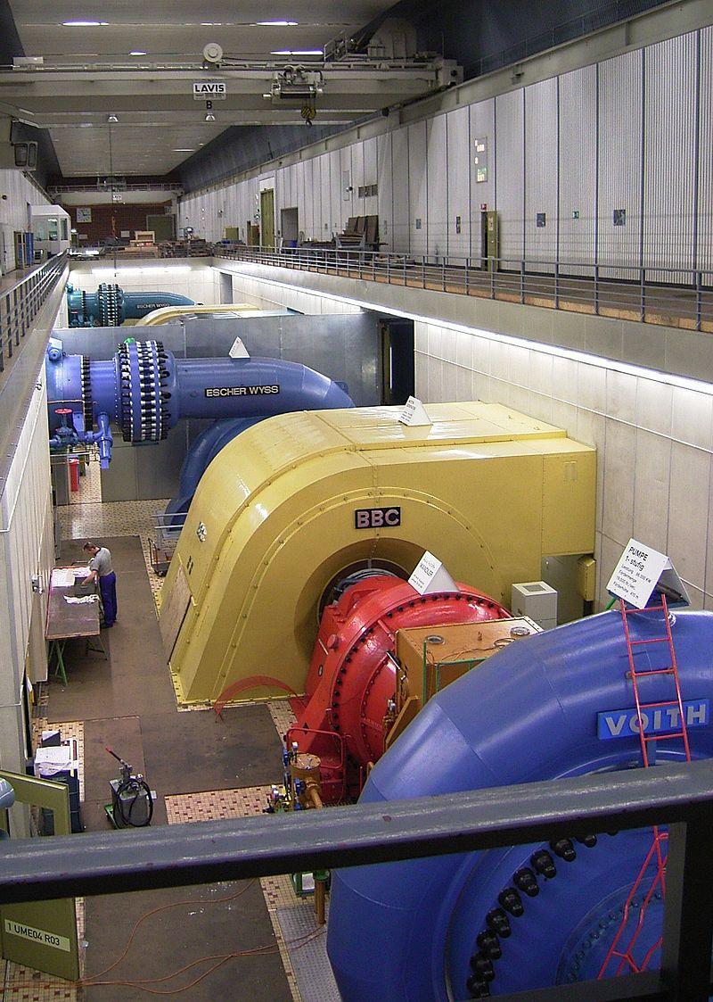 Turbinen Pumpspeicherkraftwerk