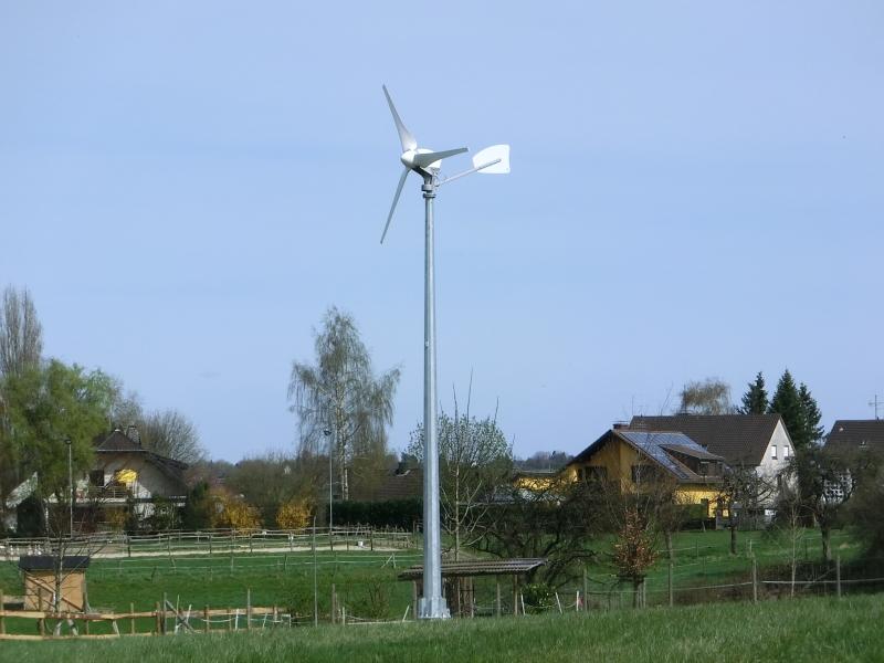 2_Kleinwindkraftanlage auf 10 m Mast