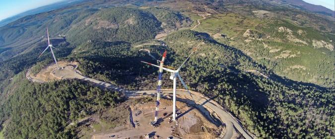 Der Windpark Koru des deutsch-türkischen Gemeinschaftsunternehmens Borusan EnBW Enerji.