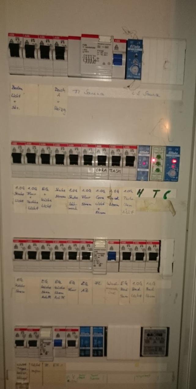 Sicherungskasten, Energie-Flatrate, Strom umsonst