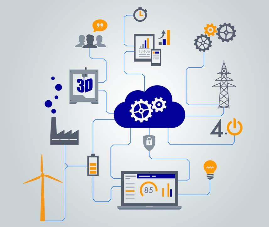 Die Digitalisierung der Energiewirtschaft hat die komplette Vernetztung der komplett vernetzte Energieerzeuger und Energieverbraucher zum Ziel.