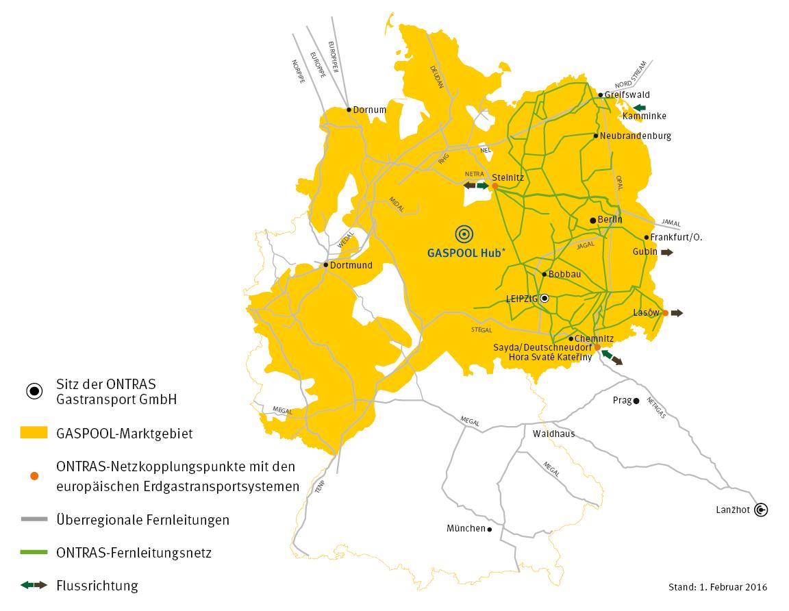 Das Rückgrat des deutschen Erdgasmarktes: Das Fernleitungsnetz, gezeigt am Beispiel der ONTRAS Gastransport GmbH, einem Unternehmen der VNG-Gruppe.