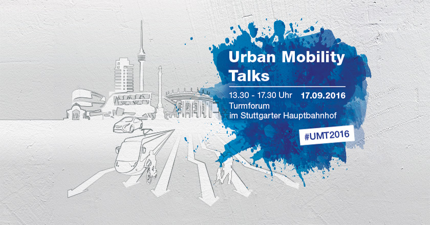 Die Urban Mobility Talks - am 17.09. in Stuttgart