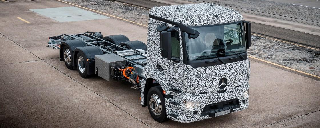Geht Daimler bei den Elektro-Trucks voran?