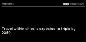 Bis 2050 wird sich der städtische Verkehr verdreifachen. Auch die Taxi-Branche trägt ihren Anteil dazu bei.