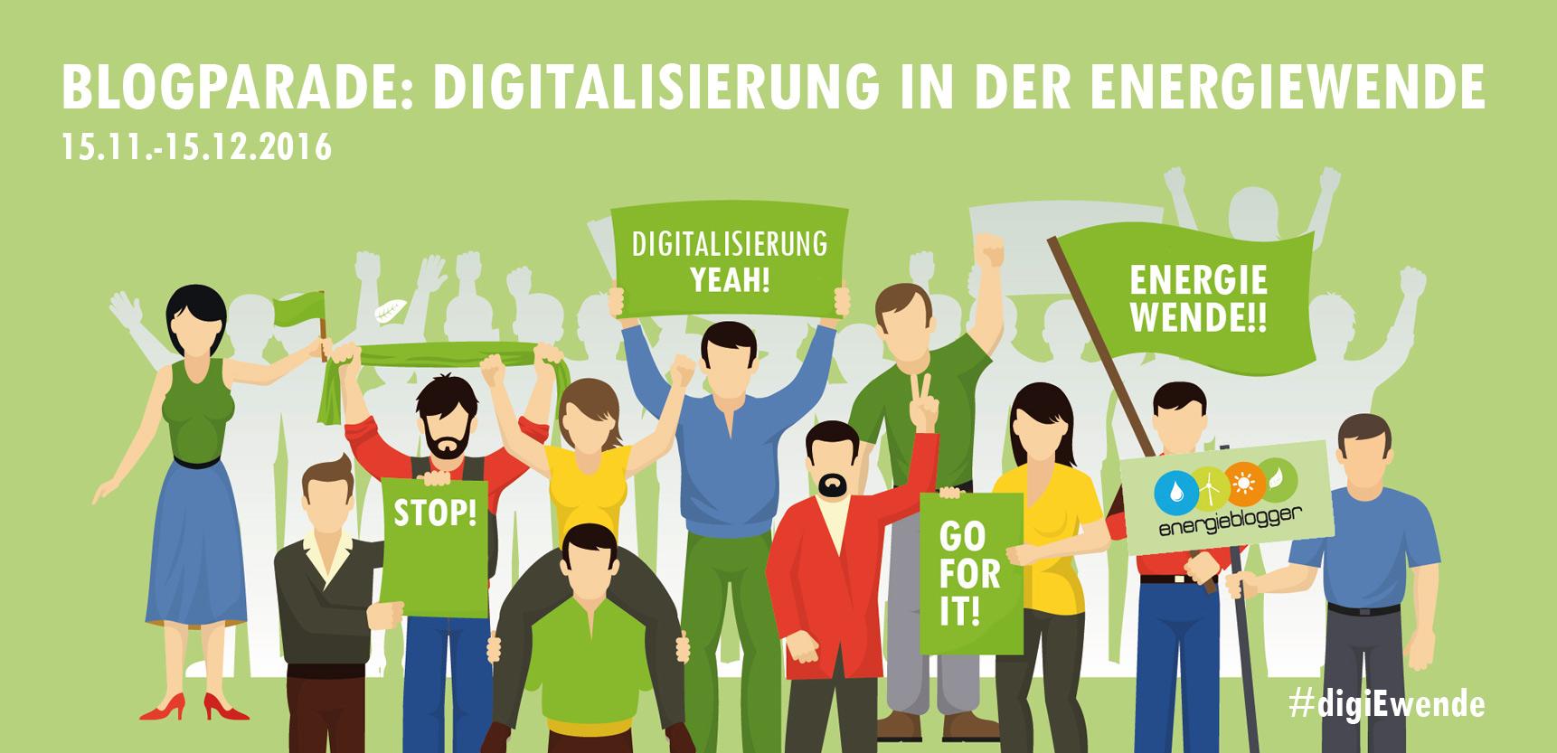 Blogparade zum Thema Digitalisierung der Energiewende, initiiert von sunny, dem SMA-Blog.