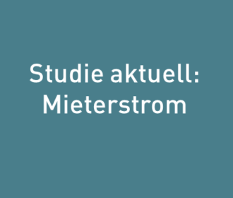 Studie Mieterstrom