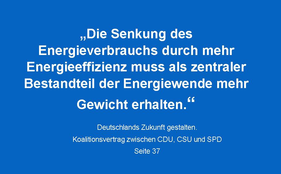 Energieeffizienz: Vernunft verliert gegen Lobby.