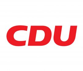 Hier ist das Logo der CDU abgebildet.
