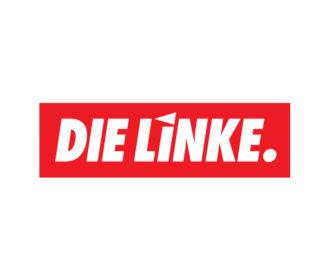 Hier ist das Logo der Partei DIE LINKE abgebildet.