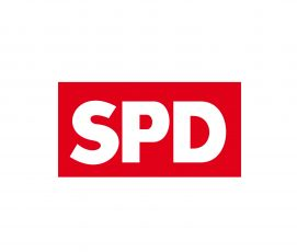Hier ist das Parteilogo der SPD abgebildet.