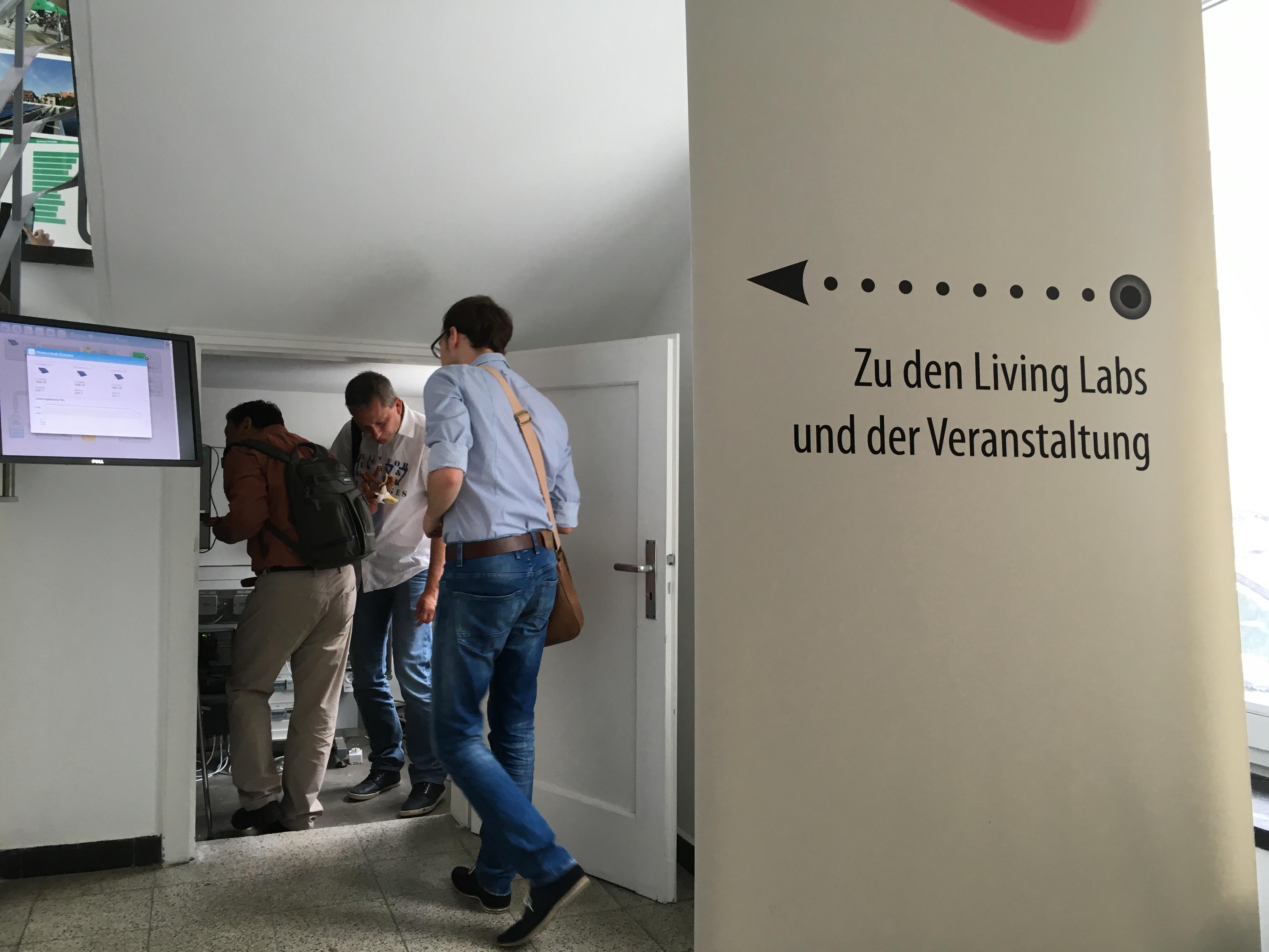 Urban Energy Talks: Living Labs-Forscher Birger Becker ist dabei.