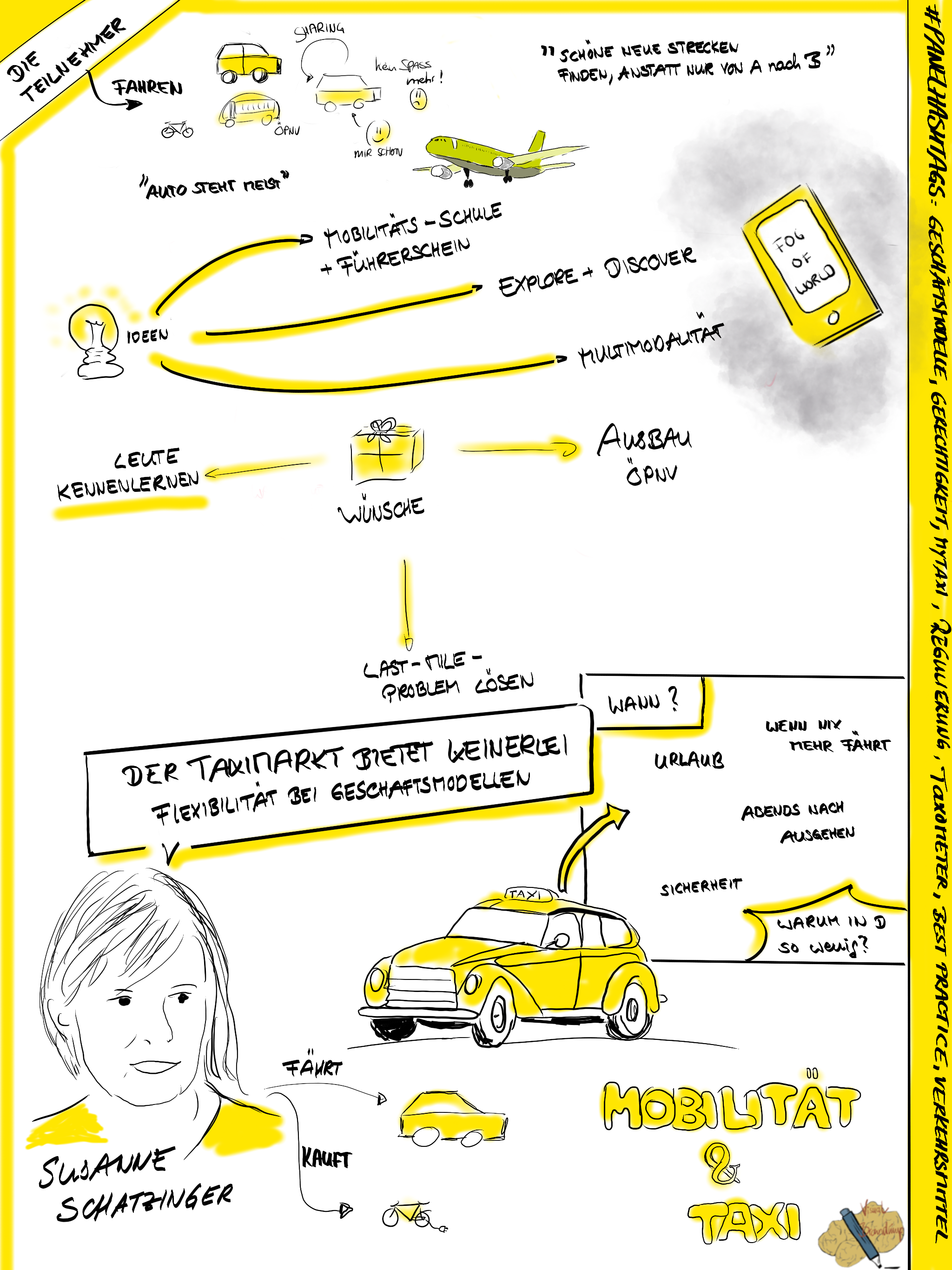 #UET2017: Das Steckenpferd von Susanne Schatzinger von Fraunhofer IAO und FutureCitiesBW ist die nachhaltige Mobilität. Ihre Frage an die Panelteilnehmer: Wie bewegen wir uns nachhaltig in der Stadt von morgen?