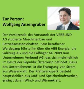 Debattenabend Elektromobilität mit Wolfgang Anzengruber