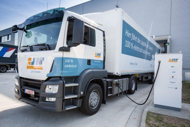 eJIT - Logistik geht auch elektrisch