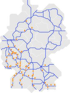 Ladeinfrastruktur der Zukunft: Schnelladestationen an Autonahnen