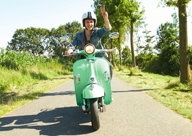 Ganz vorne steht der Spaßfaktor: e-scooter-Fahren ist ein neuartiges Erlebnis.