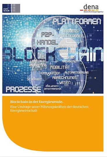 Blockchain Studie der dena