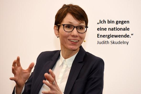 Beim Debattenabend: Judith Skudelny, MdB; Generalsekretärin FDP Baden-Württemberg. Foto: W. List